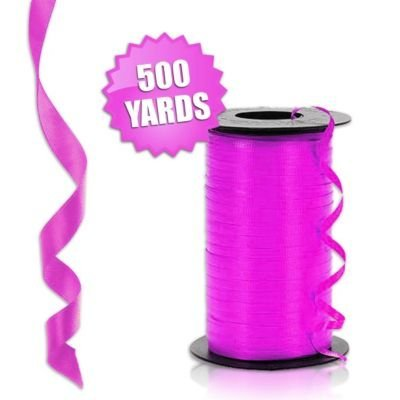 Hot Pink Curling Ribbon
