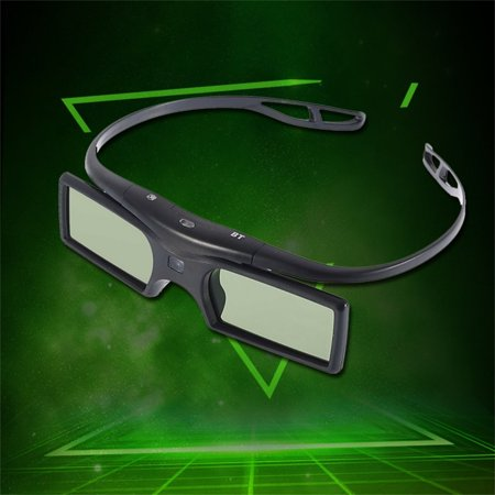 HC-TOP 3D Active Shutter Glasses for 3D Samsun TV HDTV Blue-ray Player - image 2 of 6