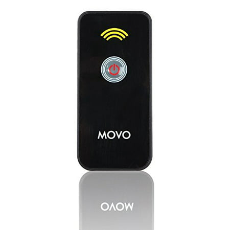 Movo Photo IR Remote Control Shutter Release for Nikon D7200, D750, D5500, D3300, D5300, D610, D7100, D5200, D600, D7000, D3200, D90, D5100, & D60 DSLR's, Nikon 1 V1, 1 J1, 1 (Electronic Shutter Release Kit)