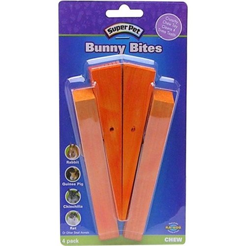 Super Pet Bunny Bites 4 Pack