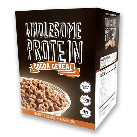 Protein Cereal, Low Carb Cereal, High Protein Cereal, 15g Protein, 4g Net Carbs, High Performance Cereal