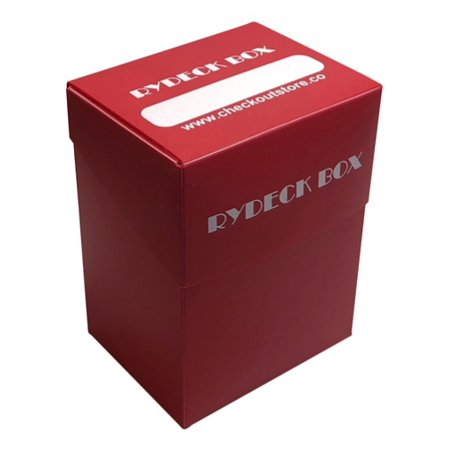 CheckOutStore® 3 Rydeck Box 120 Trading Card Holder - Red