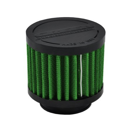 Green Filter Crankcase Filter - ID 1.5in. / Base 3in. / Top 3in. / H 2.5in. 4 Light Fitter Standard Base
