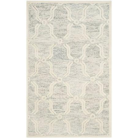 Safavieh Cambridge 6' Round Hand Tufted Wool Rug - image 3 de 10
