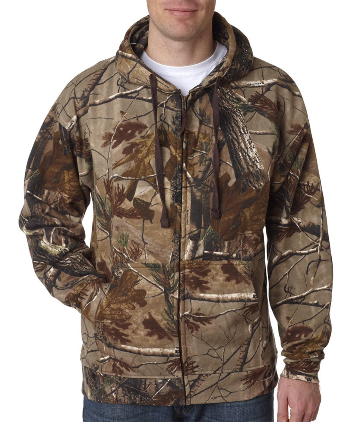 Click here to buy Code Five Adult REALTREE Camo Zip Fleece Hoodie AP 3XL 3989 by Code V.