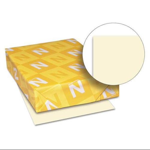 NEENAH PAPER WAU82361 Cover Stock,8-1/2 x 11 In,Ivory,PK250 G9729876