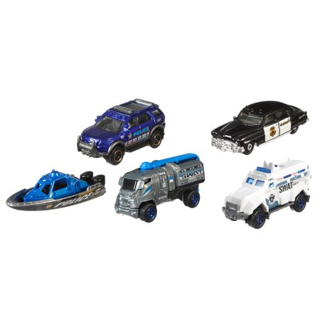 - Matchbox Patrol Car 5-Pack Rescue Adventure Vehicles Set