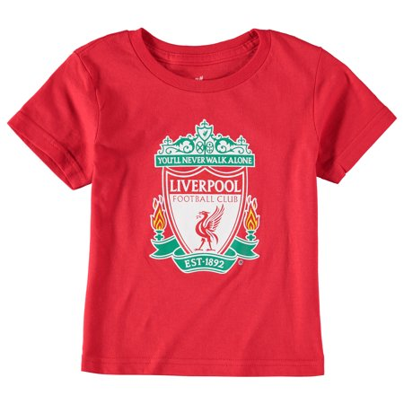 Liverpool Toddler Primary Logo T-Shirt - Red
