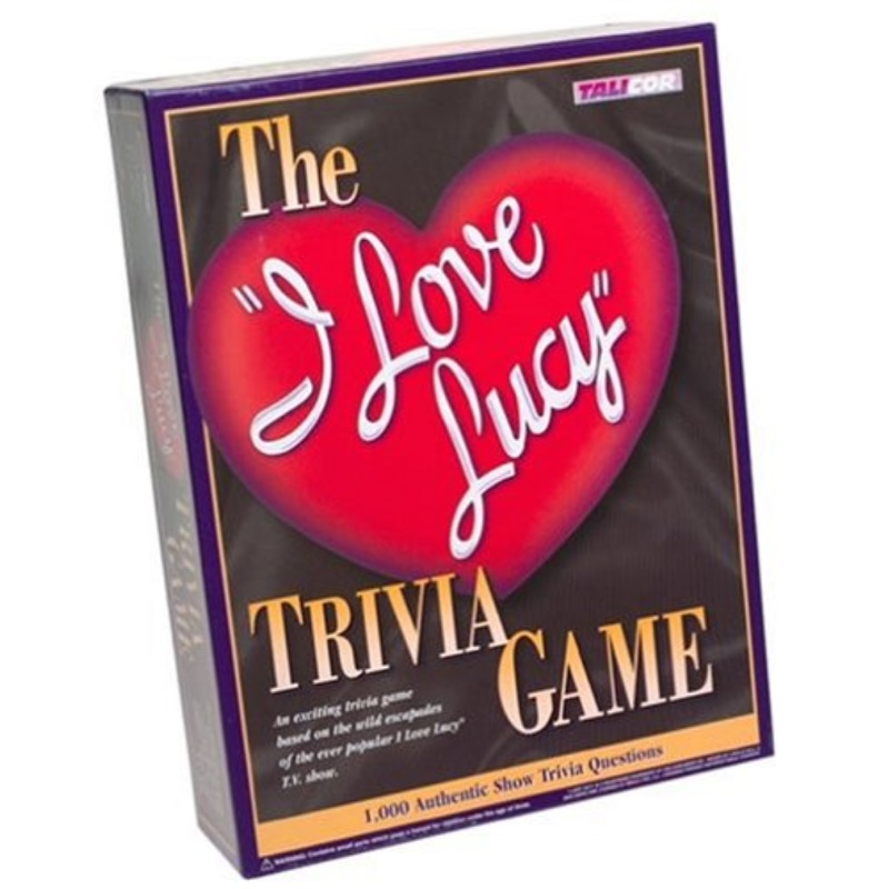 I Love Lucy Trivia Game by