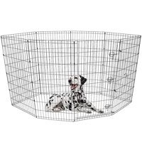 "Vibrant Life 48""H Indoor & Outdoor Pet Exercise Play Pen"