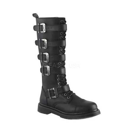 Combat Boots With Knee High Socks (Men's Demonia Bolt 425 Knee High Combat)