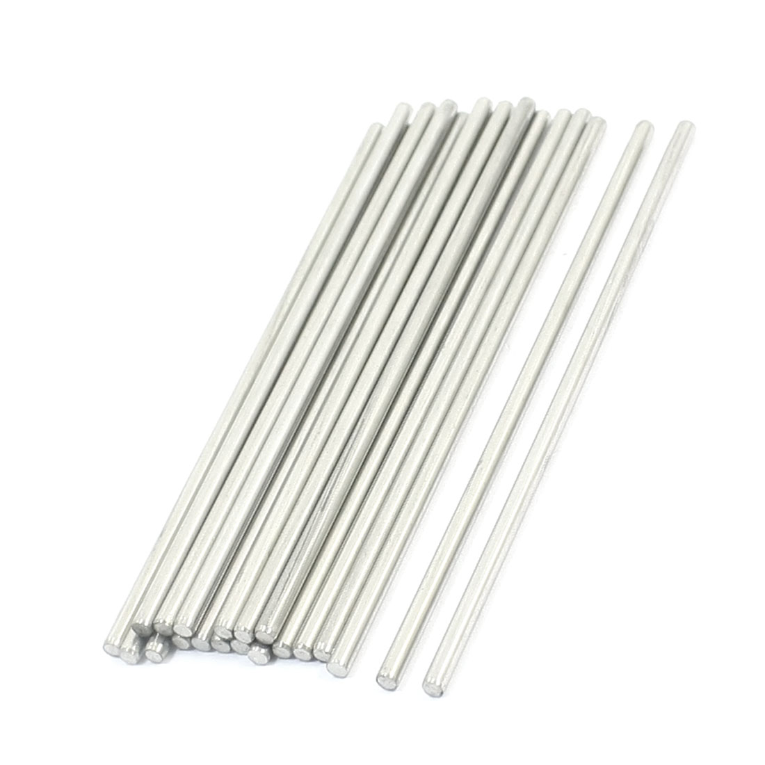20PCS RC Car Toy Spare Part Stainless Steel Round Bar Shaft 90mmx2.5mm