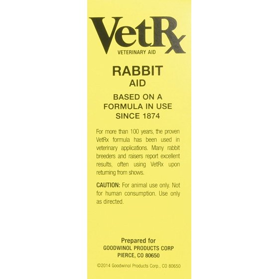 VETRX RABBIT REMEDY