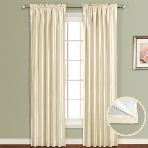 United Curtain Lincoln Lined/Interlined Curtain Panel