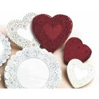 Assorted Round White Lace Paper Doilies 32ct Walmart Com