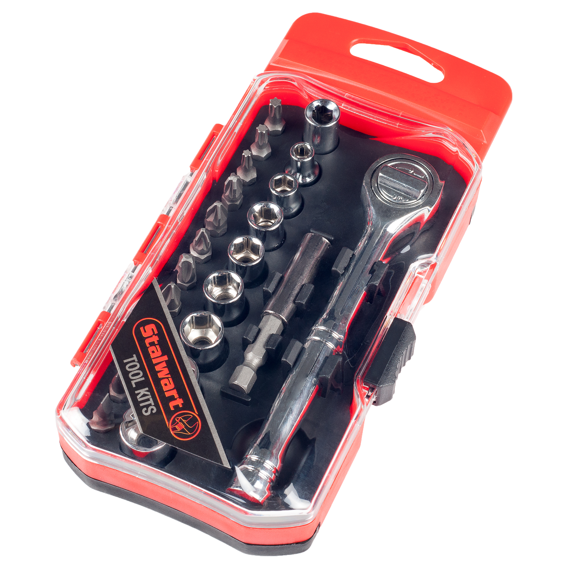 Ratchet, Metric Socket and Bit Set 23 PC by Stalwart