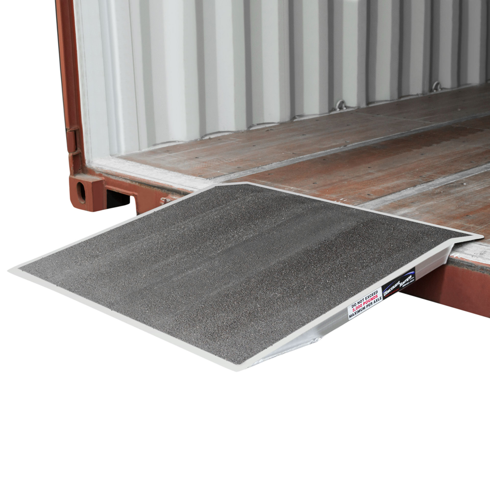 "Pallet Jack Shipping Container Ramp 36"" x 36"""
