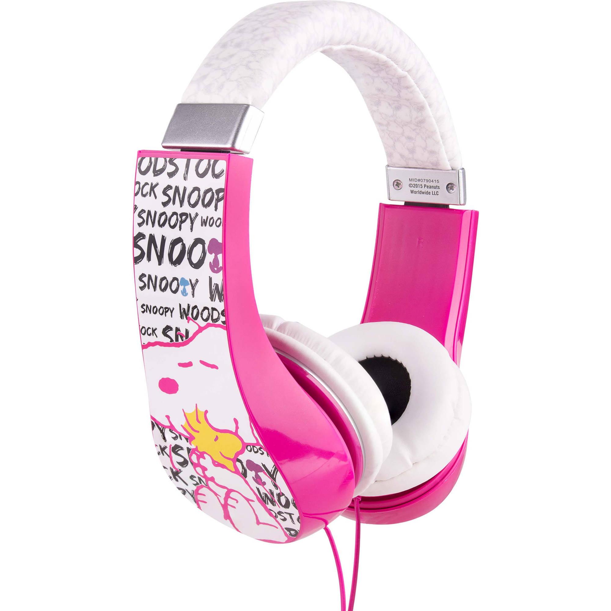 Sakar HP2-03080 Peanuts Kid-Friendly Headphones
