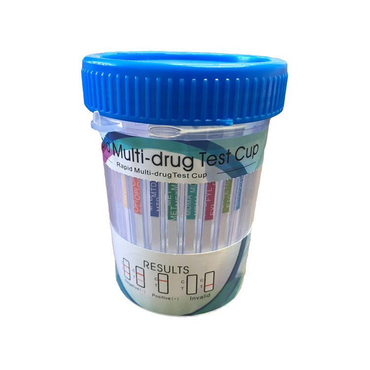 (Case of 100) 14 Panel Drug Test Cup with ETG (Alcohol) and FEN Amp/Bar/Bup/Bzo/Coc/Meth/MDMA/Mtd/Opi/Oxy/Pcp/Thc/EGT/FEN