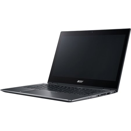 """Acer Spin 5 SP513-52N-52PL 13.3"""" Touchscreen 2 in 1 Notebook - 1920 x 1080 - Core i5 i5-8250U - 8 GB RAM - 256 GB SSD - Steel Gray - Windows 10 Home 64-bit - Intel UHD Graphics 620 - In-plane Swi"""