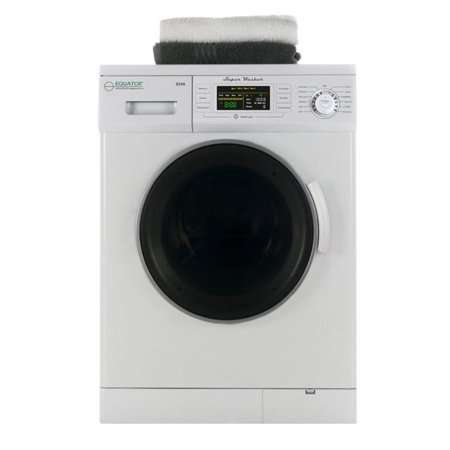 Equator 1.6 Cu. Ft. Compact Front Load Washer, White