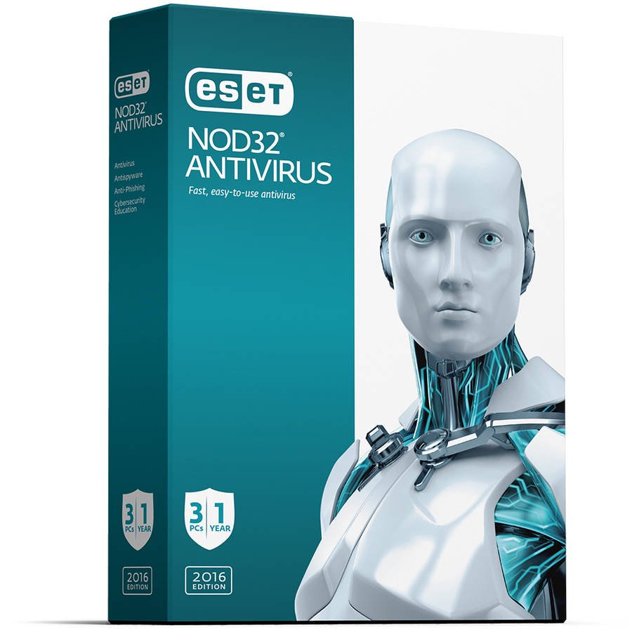 eSet NOD32 Antivirus 2016, 3 Users