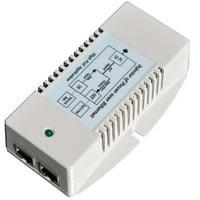 Tycon Systems TP-POE-HP-48G 56V High Power Gigabit POE Power Inserter - US Power Cord, 50W