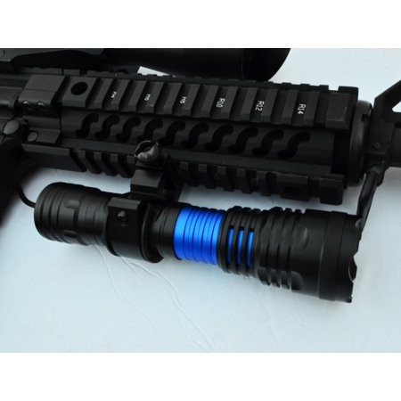 Tactical LED Gun Flashlight 1000 Lumens for Rifle & Shotgun Picatinny mount