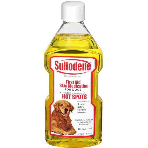 Sulfodene First Aid Skin Medication for Dogs, 4 oz