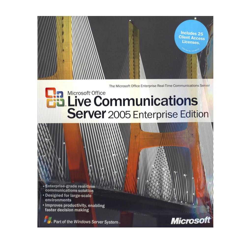Microsoft Office Live Communications Server 2005 Enterprise (A9R-00005) by Microsoft