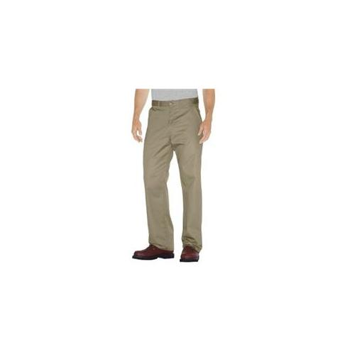 Dickies Mens Premium Cotton Flat Front Pant
