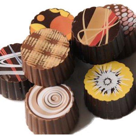 Wockenfuss Candies Gourmet Artisan Truffles - 12 piece box (Artisan Chocolate)