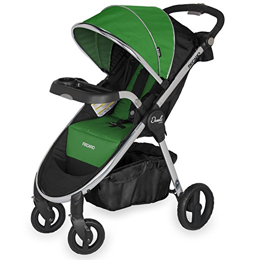 RECARO Performance Denali Luxury Stroller - Green/Black - Fern