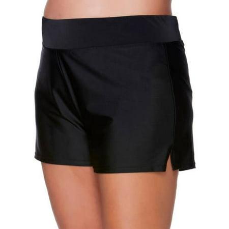c2b5954157cd3 Catalina - Women's Plus-Size Full Coverage Swim Shorts - Walmart.com