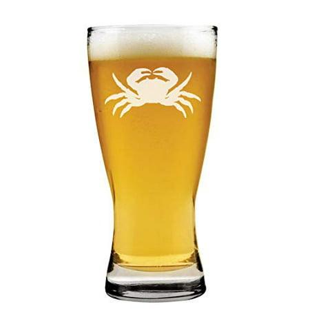 15 oz Beer Pilsner Glass Crab