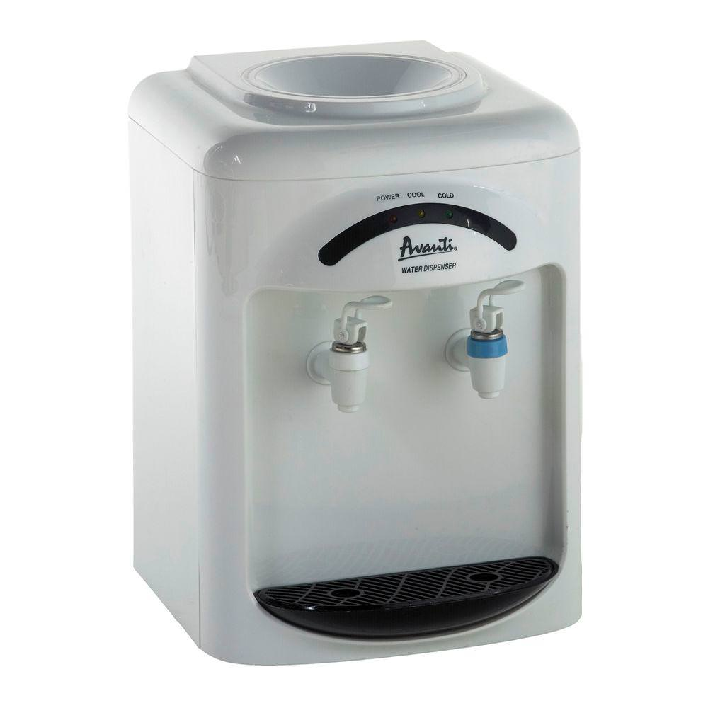 Avanti Cold and Room Temperature Tabletop Water Dispenser
