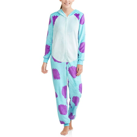 Sully Monster Women's and Women's Plus Union Suit (Women Mobster)