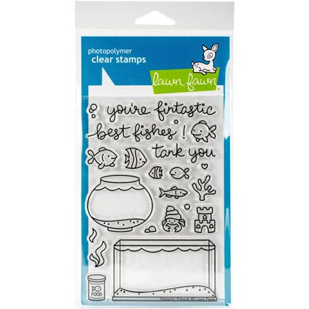 Fintastic Friends Clear Stamps - Lawn Fawn (000 Fawn)