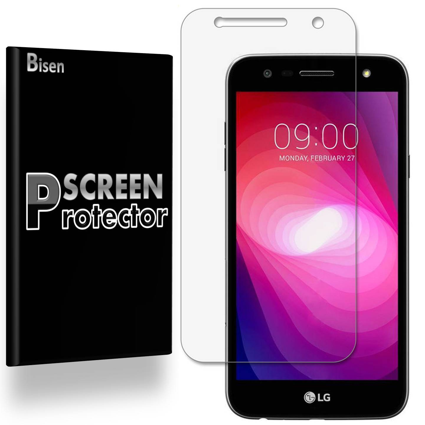 [4-Pack BISEN] Anti-Glare Matte Screen Protector For LG X Power2 / LG Fiesta LTE / LG X Charge / LG K10 Power