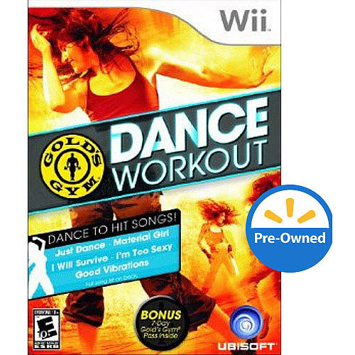 Gold's Gym Dance Workout (Wii) - Pre-Owned