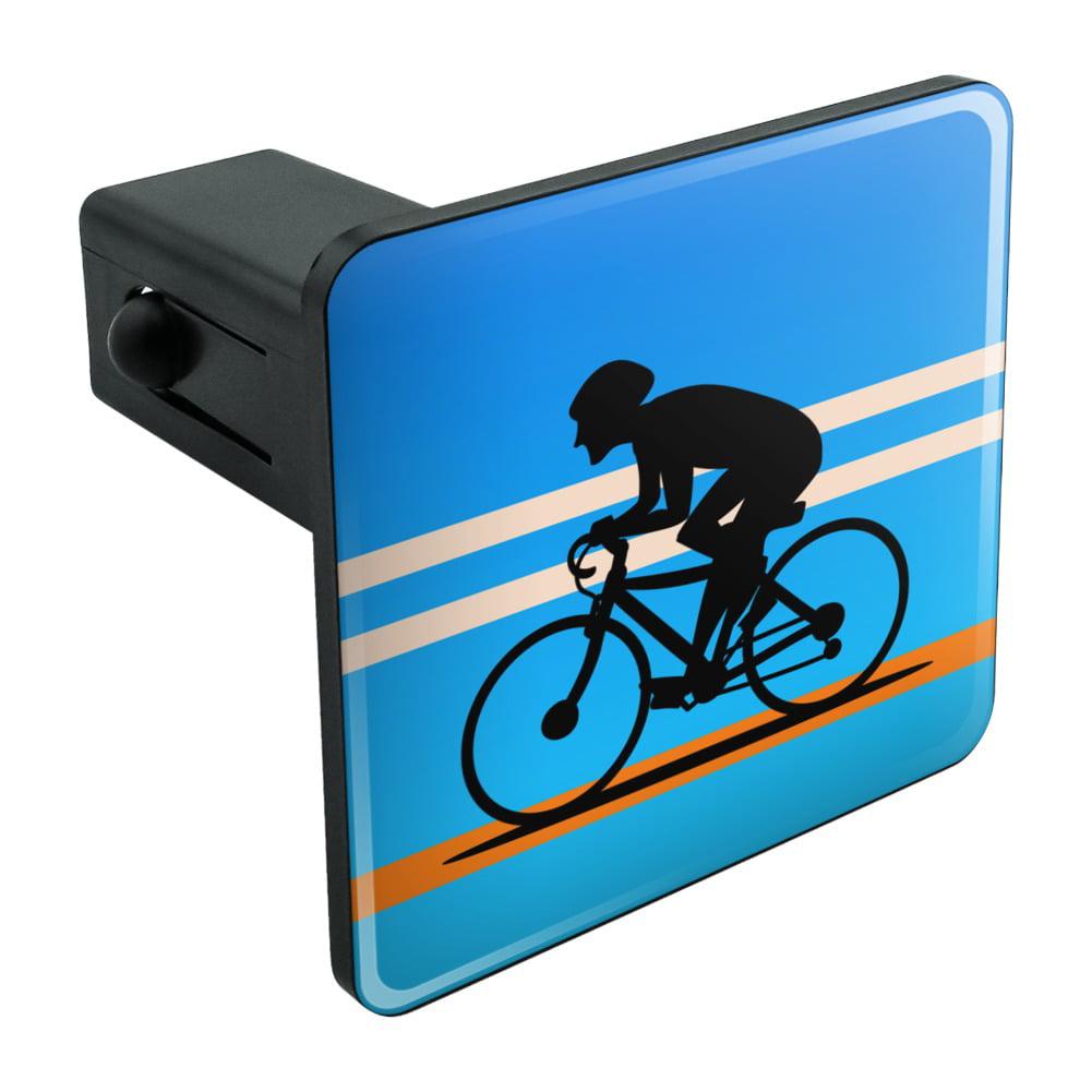 "Road Bike Cycling Biking Bicycle Tow Trailer Hitch Cover Plug Insert 1 1/4 inch (1.25"")"