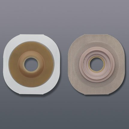 New Image 2-Piece Precut Convex Extended Wear Skin Barrier, 5 Count Convex Skin Bar