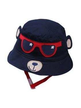 Baby Sun Hat Boys Girls Toddler Summer Bucket Outdoor Child Beach Caps UPF 50+ for 3 Months-5 Years