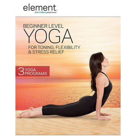 Element: Beginner Level Yoga for Toning Stress Relief & Flexibility (DVD)