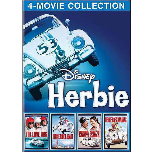 LOVE BUG/HERBIE GOES BANANAS/GOES TO MONTE C/RIDES AGAIN (DVD/4PK)