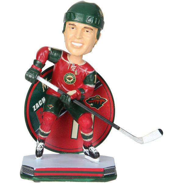Zach Parise Minnesota Wild Name and Number Bobblehead NHL