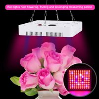 TOPINCN 85-264V 100LED 300W Grow Light Full Spectrum Lamp for Hydroponics Indoor Plants Flowers US Plug,Full Spectrum Plant Lamp,LED Plant Lamp
