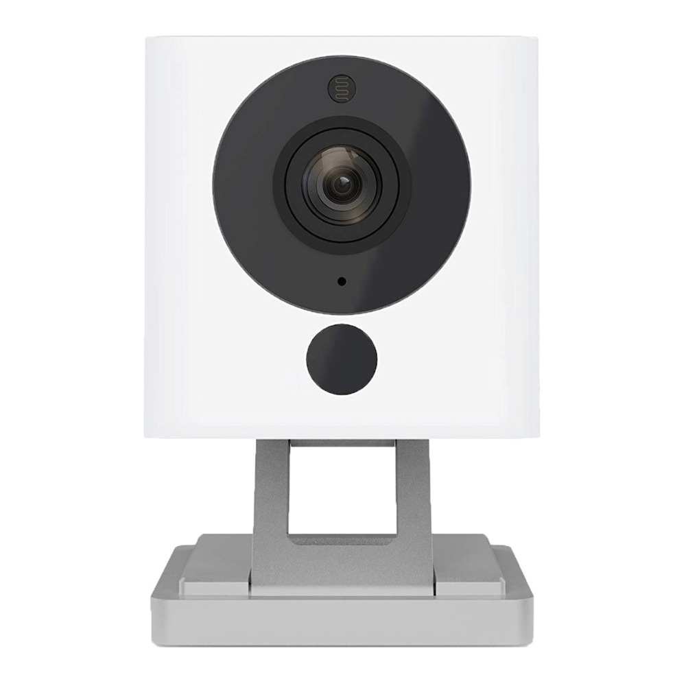 Wyze Cam 1080p HD Indoor Wireless Smart Home Camera with Night Vision, 2-Way Audio, Works with Alexa & the Google Assistant, One Pack, White