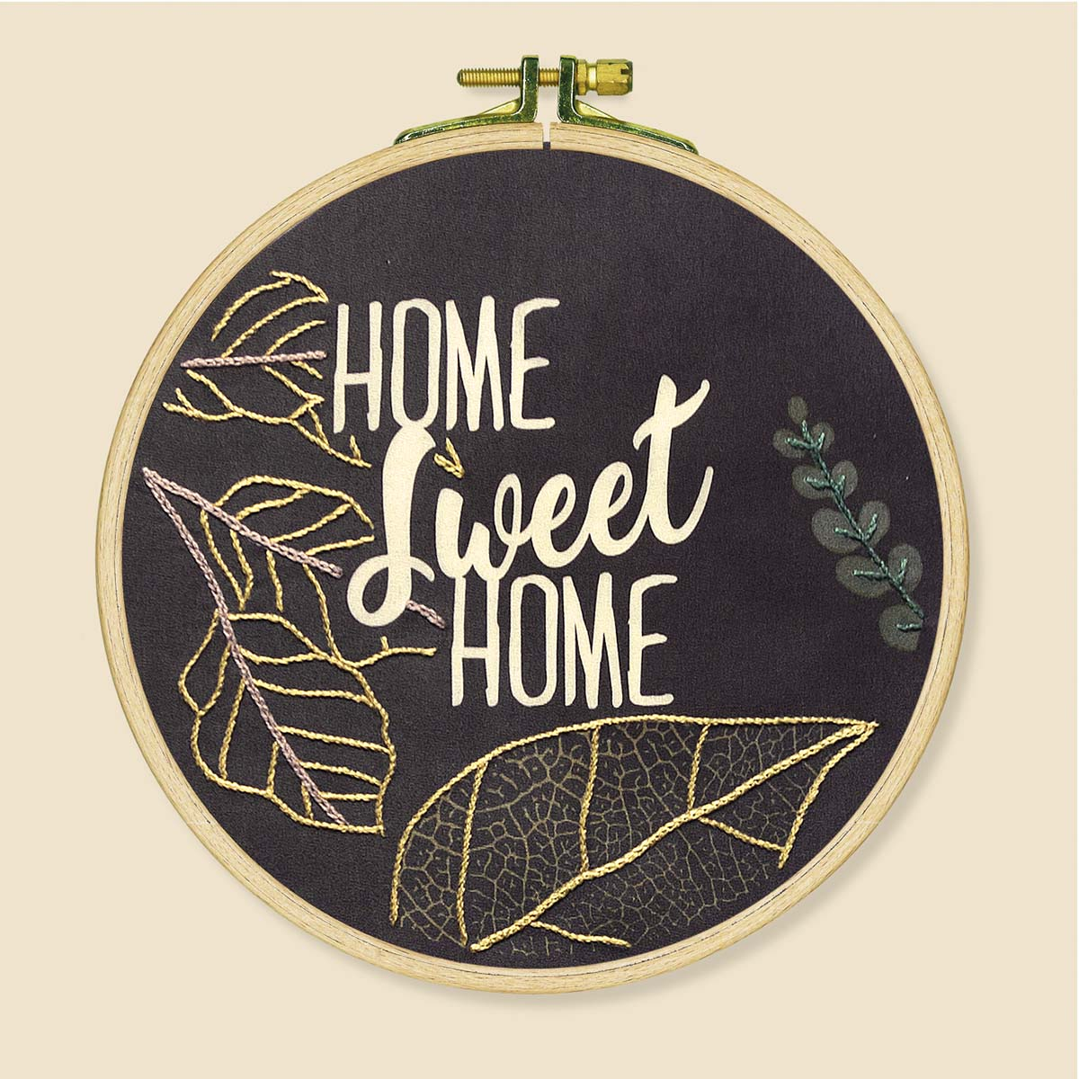 Herrschners® Home Sweet Home Picture Stamped Embroidery Kit