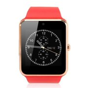 Red Bluetooth Smart Wrist Watch Phone mate for Android Samsung HTC LG Touch Screen with Camera